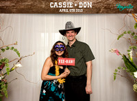 10003 - Cassie + Don Wedding Photobooth 2019