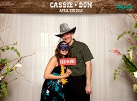 10004 - Cassie + Don Wedding Photobooth 2019