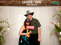 10005 - Cassie + Don Wedding Photobooth 2019