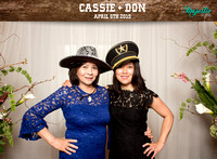 10007 - Cassie + Don Wedding Photobooth 2019