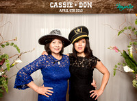 10008 - Cassie + Don Wedding Photobooth 2019