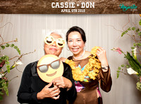 10009 - Cassie + Don Wedding Photobooth 2019