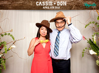 10013 - Cassie + Don Wedding Photobooth 2019